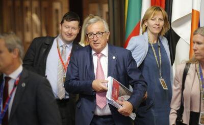Juncker: nie ma formalnej decyzji w sprawie skargi na Polskę. Relacja Macieja Sokołowskiego