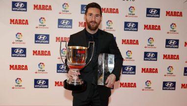 Hiszpanie nagrodzili. Messi zrównał się z legendami