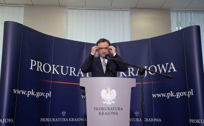 Ziobro: o wpłynięciu zawiadomienia dowiedziałem się we wtorek