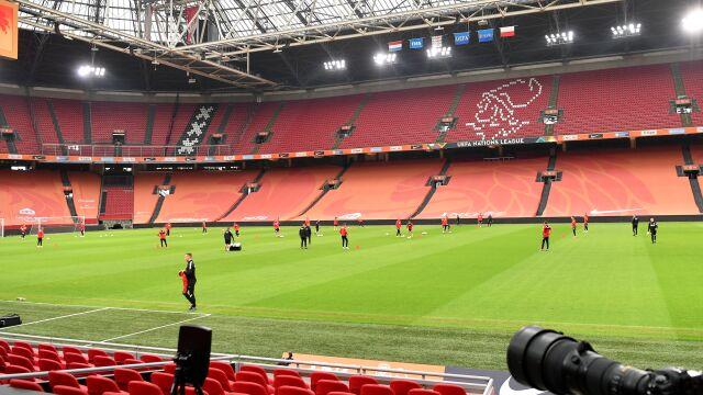 Arena w Amsterdamie gotowa. Polacy wracają do gry po 289 dniach