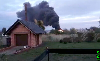 """Ogień na wysypisku śmieci. """"Dym widać z wielu kilometrów"""""""