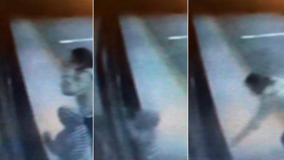 """5-latek wpadł pod ruszający pociąg, """"chwytał rękoma peron"""". Wstrząsające nagranie"""