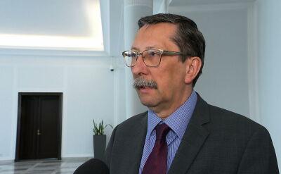 Prof. Jan Żaryn komentuje przesłuchanie Tuska przed sądem