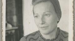 Łucja Woźniak, fotografia z końca lat 30.