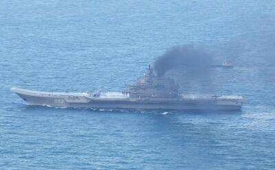 Rosyjskie okręty płyną w kierunku Syrii