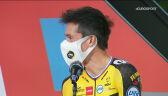 Roglić podczas prezentacji przed Vuelta a Espana 2021