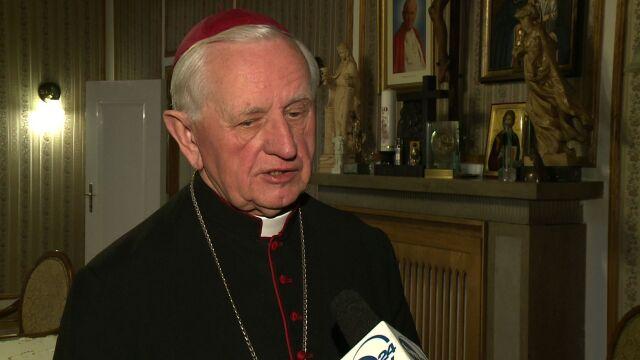 Abp Damian Zimoń o abdykacji papieża
