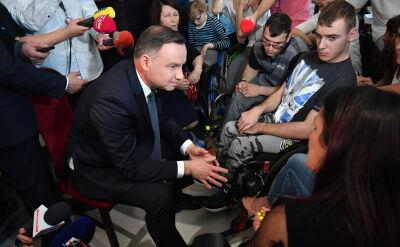 Prezydent: przygotujemy projekt ustawy, który zrealizuje postulaty rodziców protestujących w Sejmie