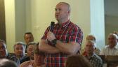 Wojtunik na spotkaniu z wyborcami zapytał Kamińskiego o nagrodę