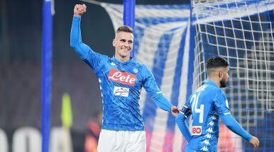 Nawet brzuch Milika strzela gole. Awans Napoli w Pucharze Włoch