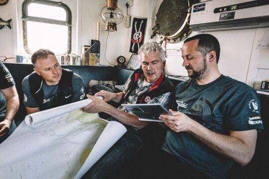 Szczątków zaginionego w 1940 r. okrętu nie znaleziono