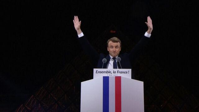 Macron zwrócił się do wyborców Le Pen