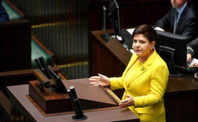 Beata Szydło: nie ograniczacie się w swojej chęci destabilizacji sytuacji w Polsce