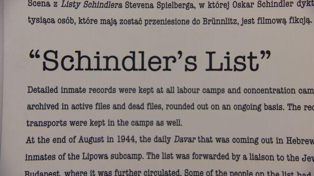 """""""Lista Schindlera"""" na sprzedaż. Polska kupi?"""