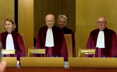 Przedstawiciel prokuratora generalnego chce wykluczenia prezesa TSUE