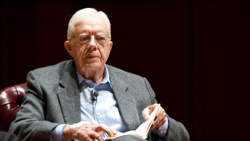 Jimmy Carter znów w szpitalu. Upadł i złamał miednicę