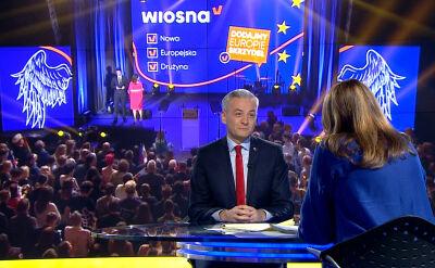 """Robert Biedroń w """"Faktach po Faktach"""""""