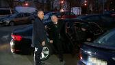 Kaczyński i senatorowie przyjechali do jednego z warszawskich hoteli