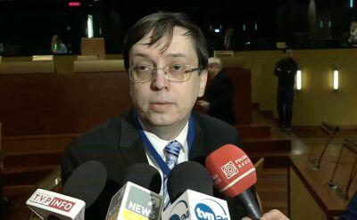 Bogusław Majczyna z MSZ i Michał Warykiewicz z inicjatywy Wolne Sądy o rozprawie przed TSUE