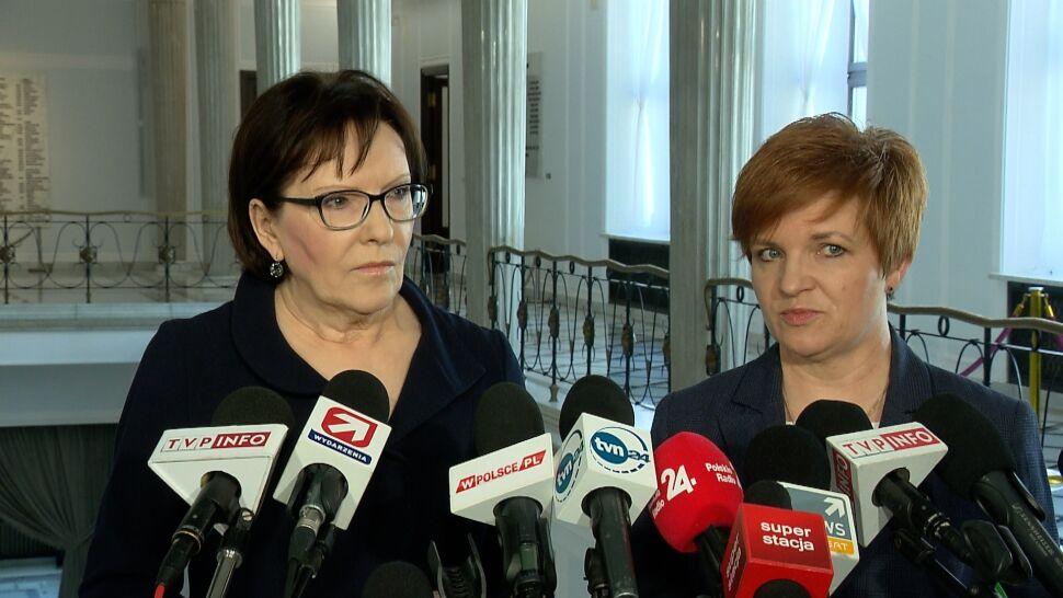 """Kopacz zaprasza Szydło. """"Jest rodzicem tak jak ja, była premierem i ja byłam premierem"""""""
