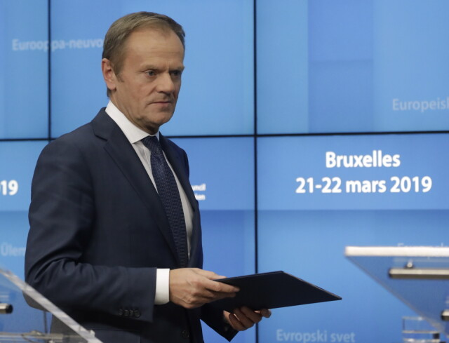 Brexit  Donald Tusk agreed on the exit from the EU