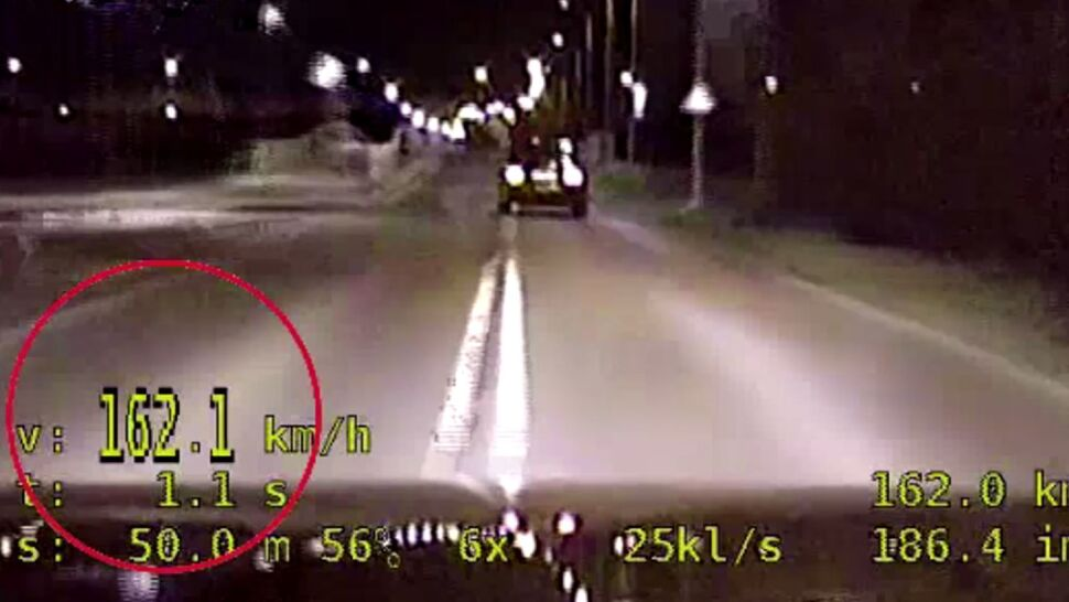 19-latek gnał na złamanie karku. O 102 km/h za szybko