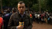 """Relacja reportera """"Faktów"""" TVN24 z akcji ratunkowej w Tajlandii"""