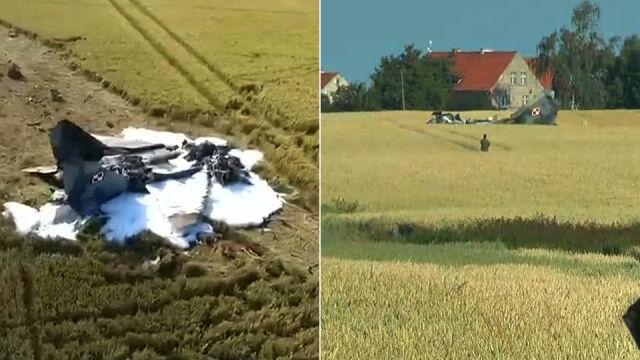 Dwie osoby z zarzutami po katastrofie MiG-a 29. W wypadku zginął pilot