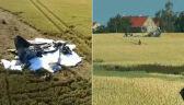 Myśliwiec rozbił się w Sakówku. Nie żyje pilot