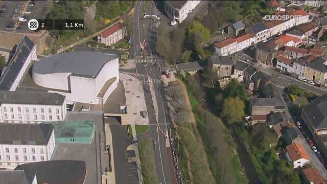 Finisz wyścigu Cholet Pays de La Loire