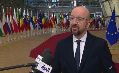 Charles Michel: mam nadzieję, że będziemy w stanie współpracować z brytyskim rządem