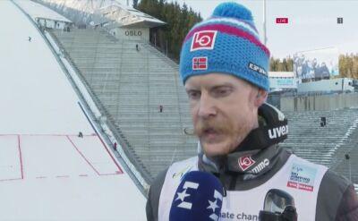 Johansson: za mną fantastyczny weekend w Oslo