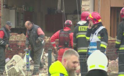 Wybuch gazu w budynku w Bełku