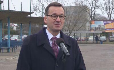 Premier odnosi się do wyniku sondażu w sprawie eurowyborów