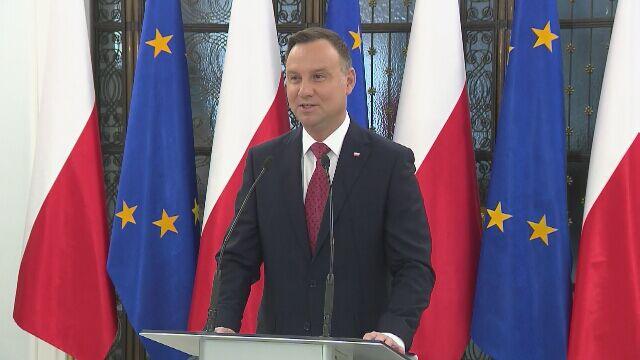 Prezydent o expose Czaputowicza: szersze spektrum polityki