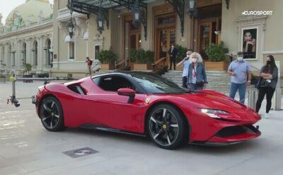 Charles Leclerc przejechał ulicami Monte Carlo