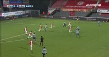 Skrót meczu Emmen - Ajax Amsterdam w 10. kolejce Eredivisie