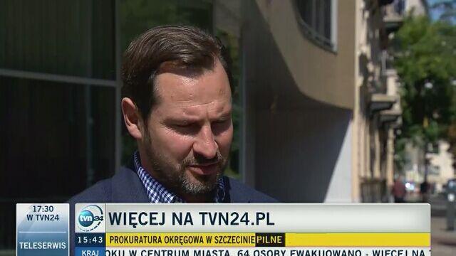 Mec. Antoni Kania-Sieniawski: przełożeni wiedzieli o operacji prowadzonej przez zdegradowaną major