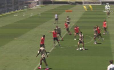 Real Madryt trenował po wygranej z Villarrealem