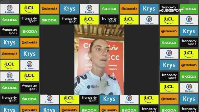 Ashleigh Moolman-Pasio po 5. etapie wirtualnego Tour de France