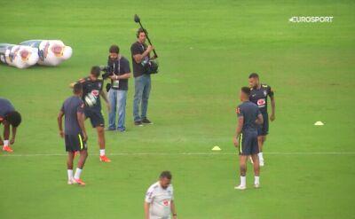 Trening Brazylii przed meczem z Wenezuelą
