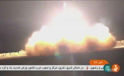 Iran opublikował nagranie ze startu rakiety, która zestrzeliła amerykańskiego drona (dźwięk oryginalny)