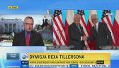 Dymisja Rexa Tillersona