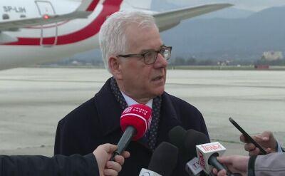 Minister Czaputowicz o rezultatach wizyty w Skopie