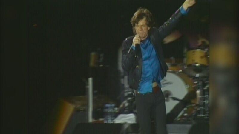 Koncert Rolling Stones na warszawskim Służewcu w lipcu 2007 roku
