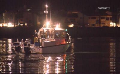 Pożar łodzi u wybrzeży Kalifornii. Kilkadziesiąt osób zaginionych