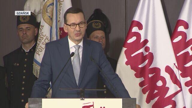 Przemówienie premiera na obchodach Porozumień Sierpniowych