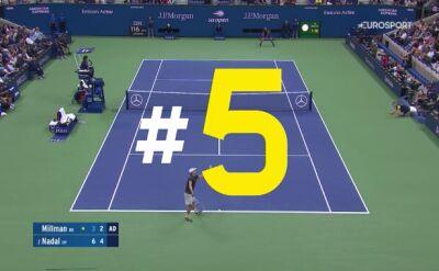 Najlepsze zagrania finalistów US Open