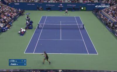 Skrót meczu Rafael Nadal - Marin Cilic