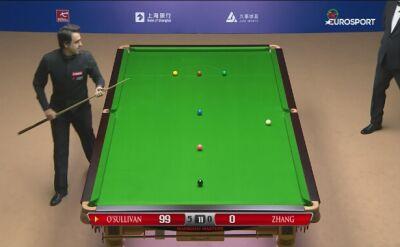 Ronnie O'Sullivan rozbił Yi Zhanga i zagra w ćwierćfinale